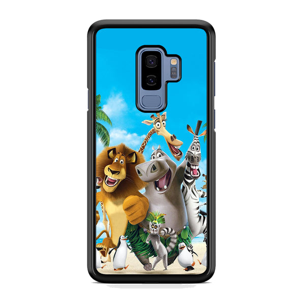 Madagascar Happy Holiday Samsung Galaxy S9 Plus Case