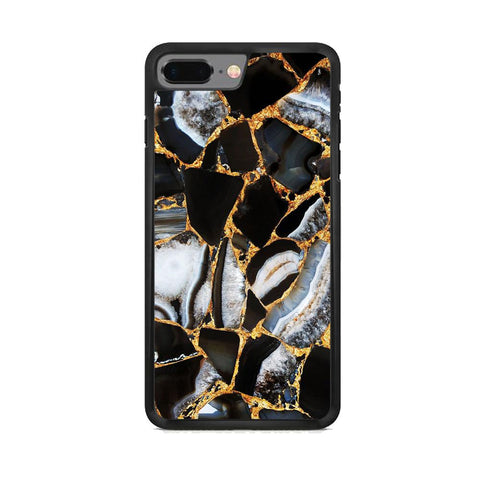 Marble Gold Paste iPhone 7 Plus Case