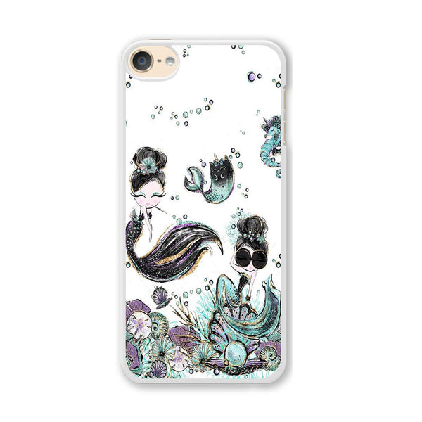 Mermaid Happiness iPod Touch 6 Case