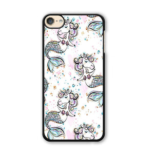 Mermaid Unicorn iPod Touch 6 Case