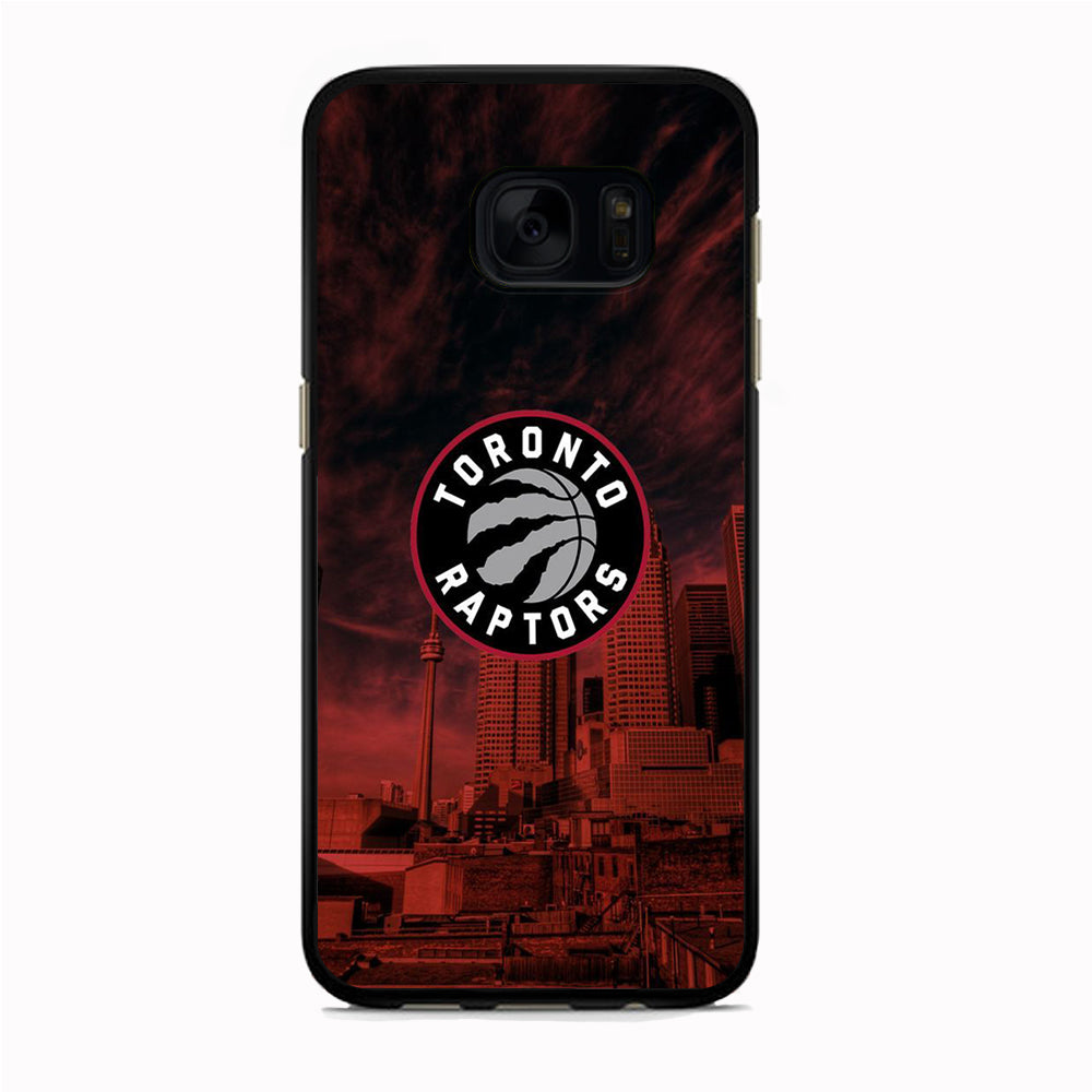 NBA Toronto Raptors Emblem Samsung Galaxy S7 Edge Case