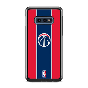 NBA Washington Wizards Logo Stripe Colours Samsung Galaxy S10E Case