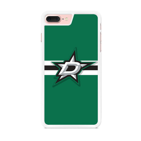 NHL Dallas Stars Stripe Green iPhone 7 Plus Case