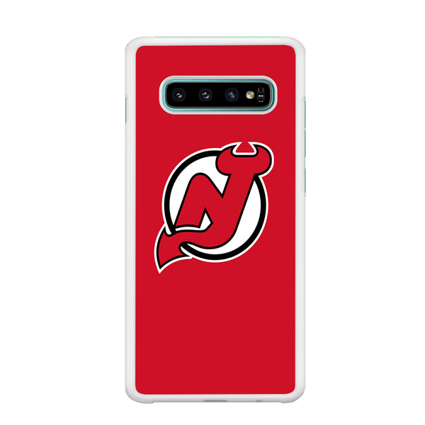 NHL New Jersey Devils Team Samsung Galaxy S10 Case