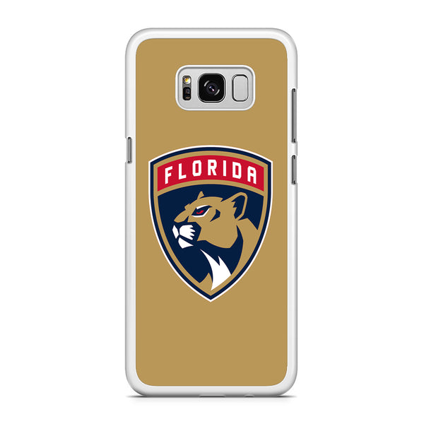 NHL Panther Gold Samsung Galaxy S8 Plus Case