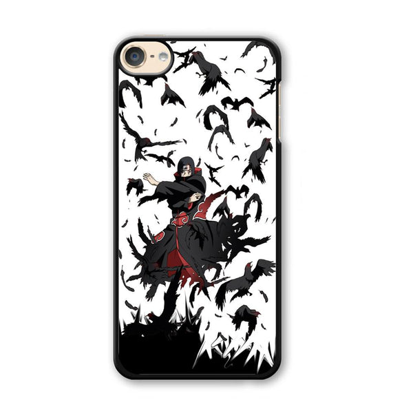 Naruto Itachi Uchiha Flying Bird iPod Touch 6 Case