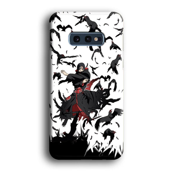 Naruto Itachi Uchiha Flying Bird Samsung Galaxy S10E Case