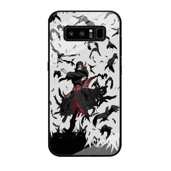 Naruto Itachi Uchiha Flying Bird Samsung Galaxy Note 8 Case