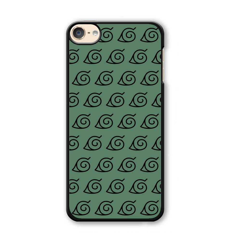 Naruto Konoha Symbol Green Wallpaper iPod Touch 6 Case