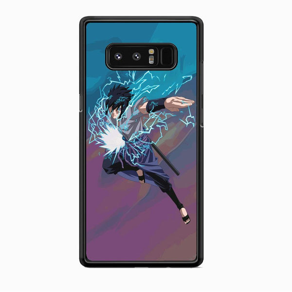 Naruto Uchiha Sasuke Beattle Style Samsung Galaxy Note 8 Case