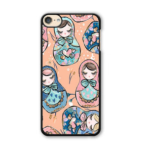 Nesting Dolls Dusk Color iPod Touch 6 Case