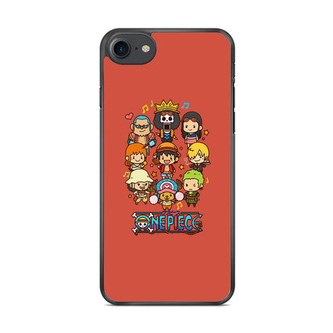 One Piece Emoji Icon iPhone 8 Case