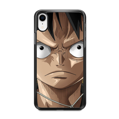 One Piece Luffy Angry iPhone XR Case