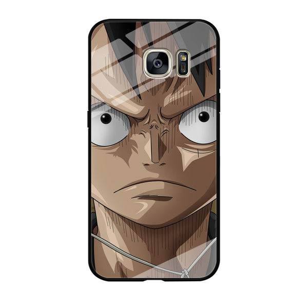 One Piece Luffy Angry Samsung Galaxy S7 Edge Case