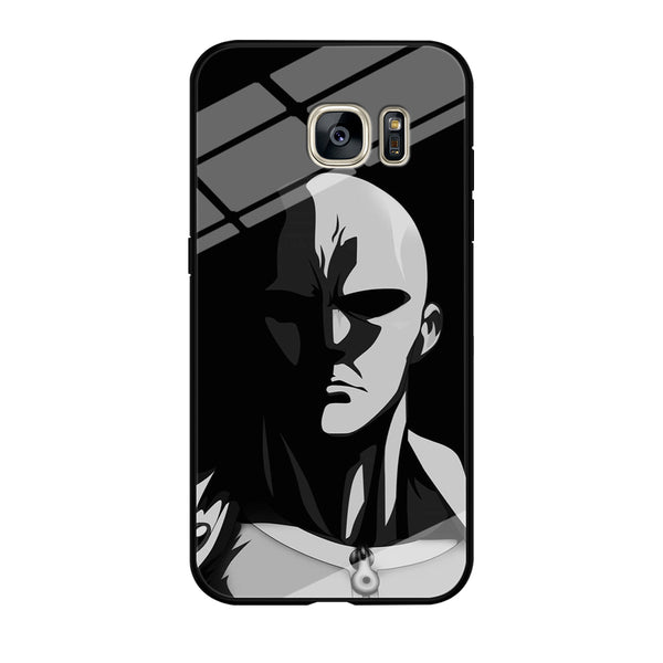 One Punch Touch Saitama Angry Style Samsung Galaxy S7 Edge Case