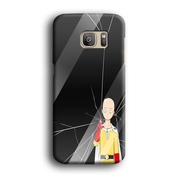 One Punch Touch When Touch The Glass Samsung Galaxy S7 Edge Case