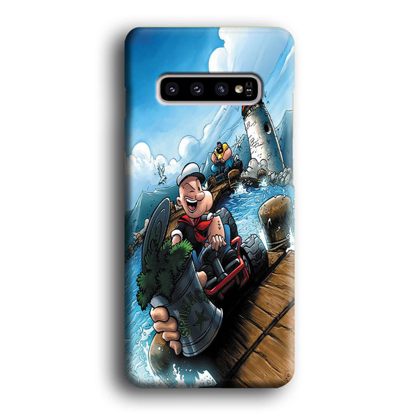 Popeye Spinach Power Samsung Galaxy S10 Plus Case