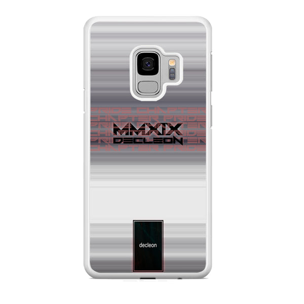 Pride Chapter Decleon 2019 Wall Crack Samsung Galaxy S9 Case