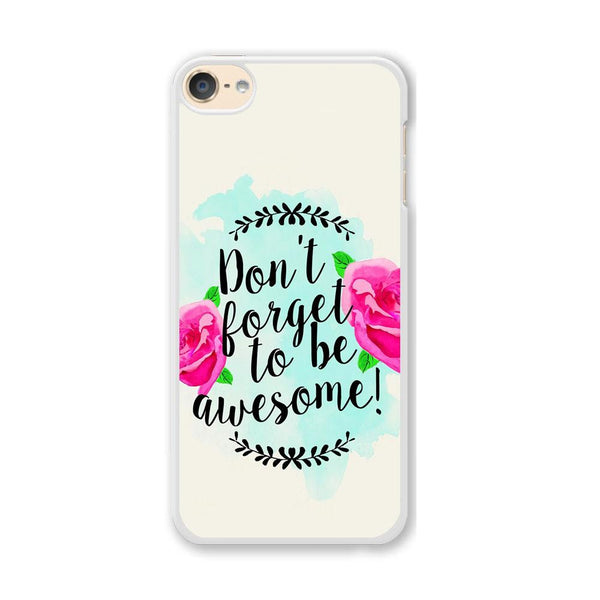 Quote Amazing Things iPod Touch 6 Case