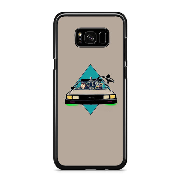 Rick And Morty Drive Police Car Samsung Galaxy S8 Case