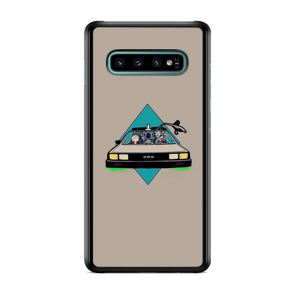 Rick And Morty Drive Police Car Samsung Galaxy S10 Case