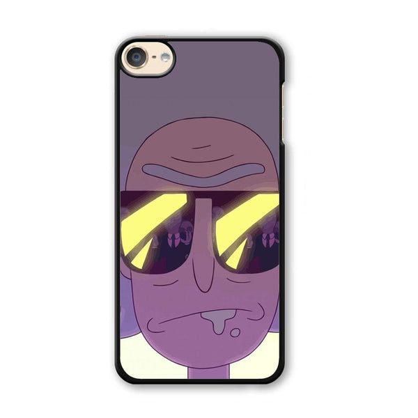Rick And Morty Glasses iPod Touch 6 Case