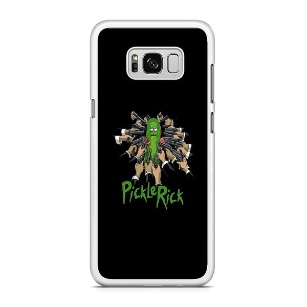 Rick And Morty Jhon Pickle Rick Samsung Galaxy S8 Plus Case