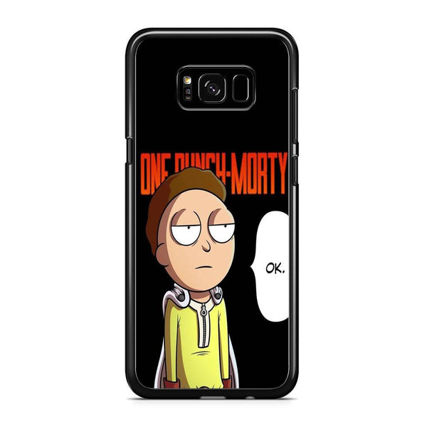 Rick And Morty One Touch Morty Samsung Galaxy S8 Case