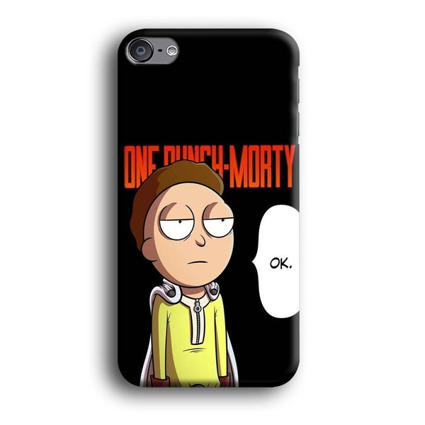Rick And Morty One Touch Morty iPod Touch 6 Case