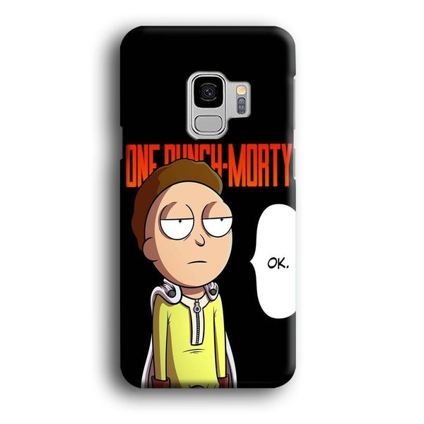 Rick And Morty One Touch Morty Samsung Galaxy S9 Case