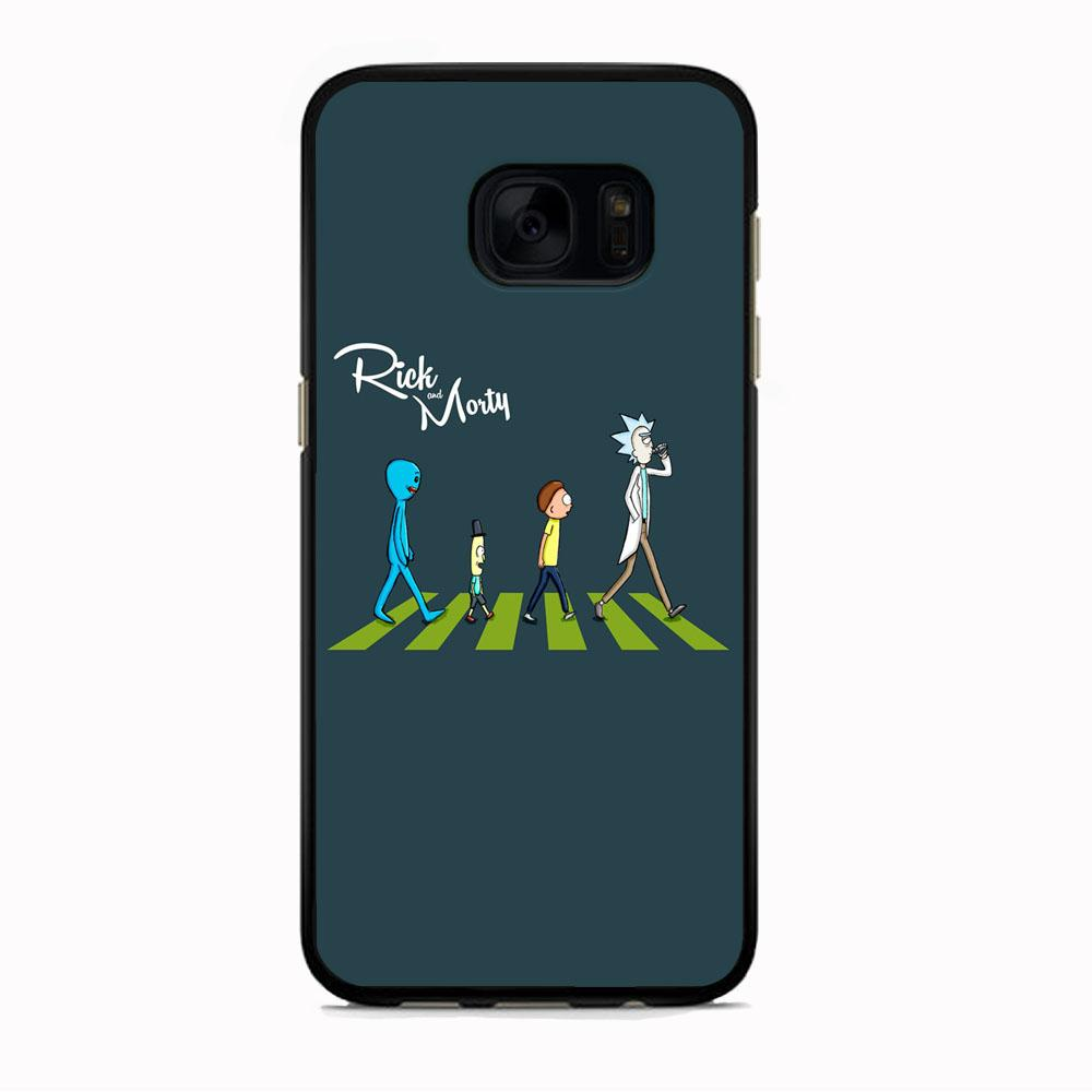Rick And Morty The Beatles Samsung Galaxy S7 Case