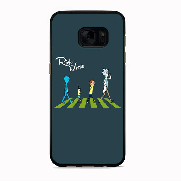 Rick And Morty The Beatles Samsung Galaxy S7 Edge Case