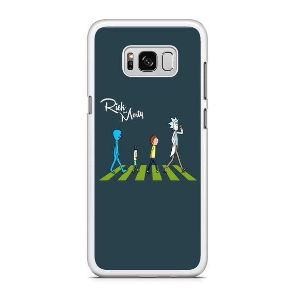 Rick And Morty The Beatles Samsung Galaxy S8 Plus Case