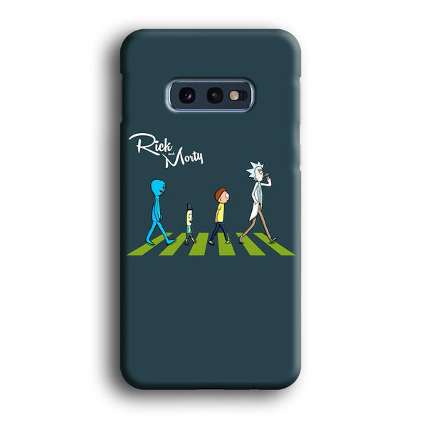 Rick And Morty The Beatles Samsung Galaxy S10E Case