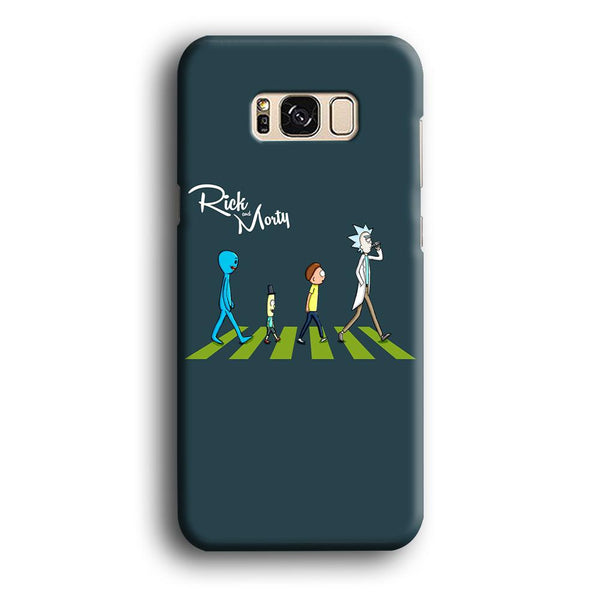 Rick And Morty The Beatles Samsung Galaxy S8 Case
