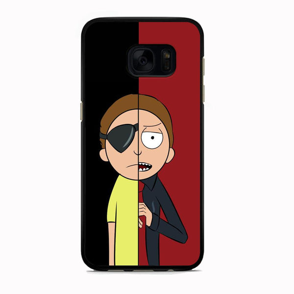 Rick And Morty Two Character Samsung Galaxy S7 Edge Case