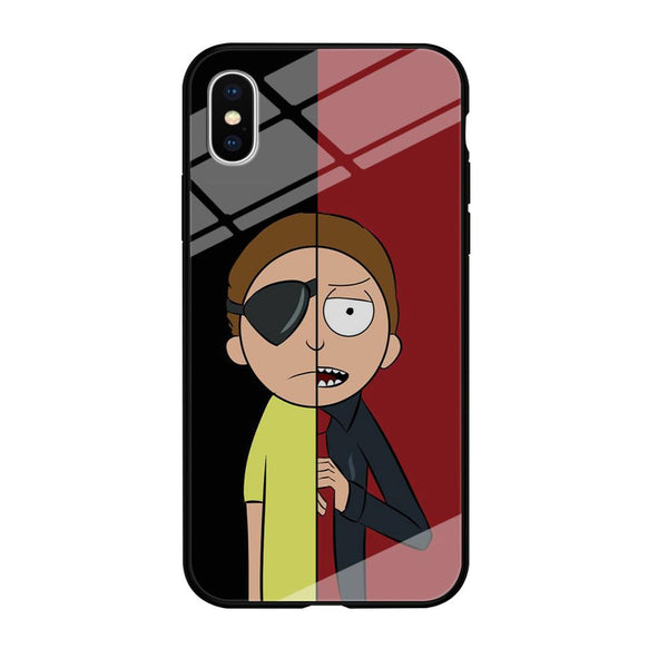 Rick And Morty Two Character iPhone X Case