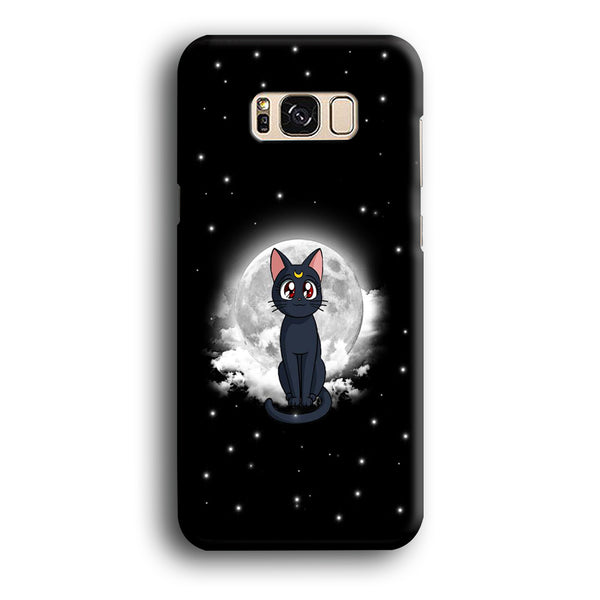 Sailor Moon Luna Cat Samsung Galaxy S8 Case