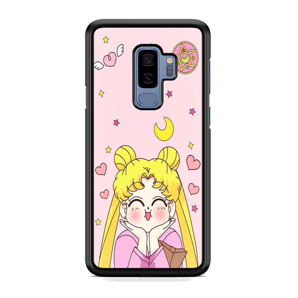 Sailor Moon Pink Cute Samsung Galaxy S9 Plus Case
