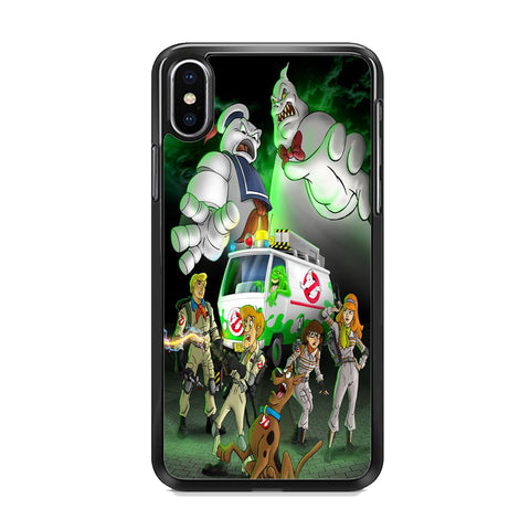 Scooby Doo Ghostbusters iPhone XS Case
