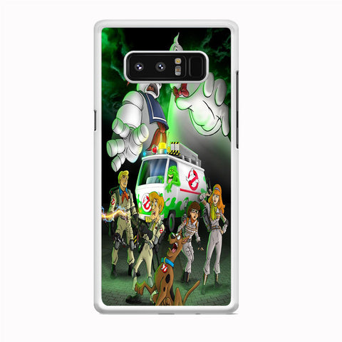 Scooby Doo Ghostbusters Samsung Galaxy Note 8 Case
