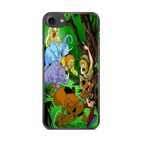 Scooby Doo Mystery In The Forest iPhone 8 Case