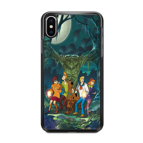 Scooby Doo With Tree Monsters iPhone XS Case