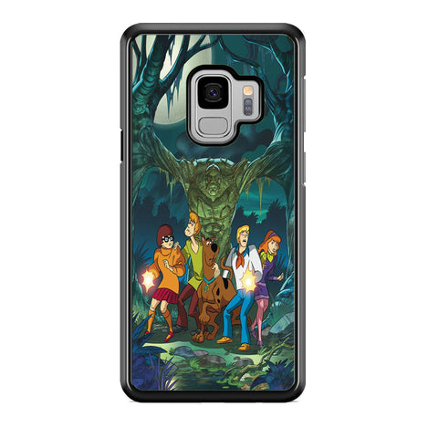 Scooby Doo With Tree Monsters Samsung Galaxy S9 Case
