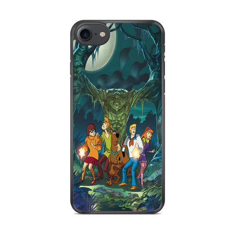 Scooby Doo With Tree Monsters iPhone 8 Case
