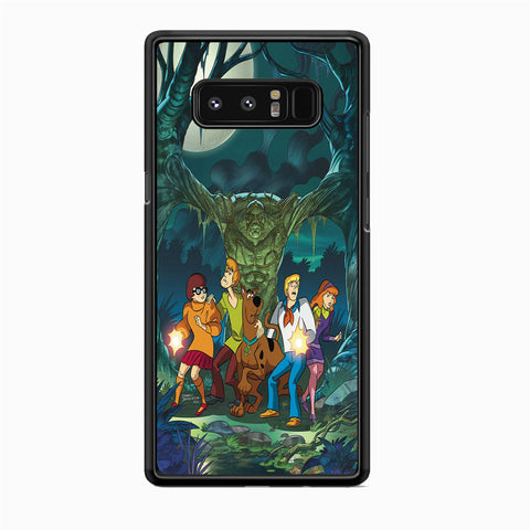 Scooby Doo With Tree Monsters Samsung Galaxy Note 8 Case