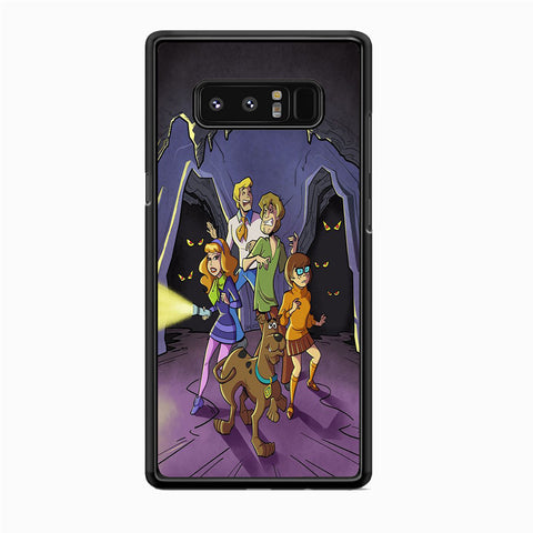 Scooby Doo in The Cave Samsung Galaxy Note 8 Case