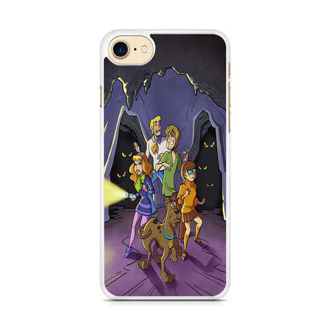 Scooby Doo in The Cave iPhone 8 Case