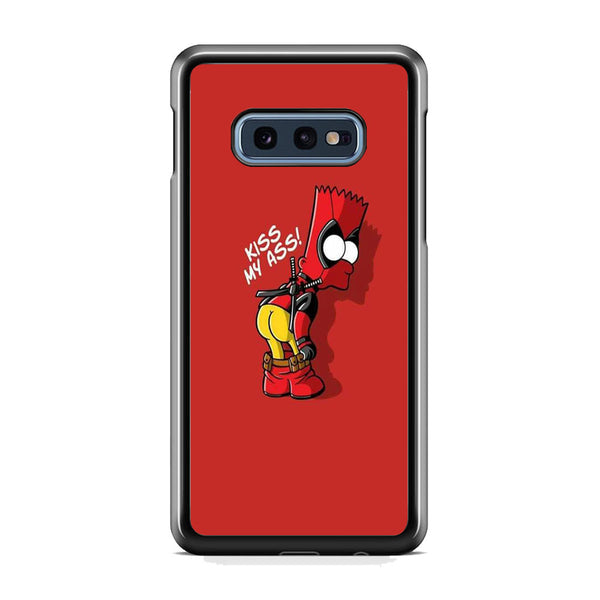 Simpson Bart Deadpool Meme Samsung Galaxy S10E Case