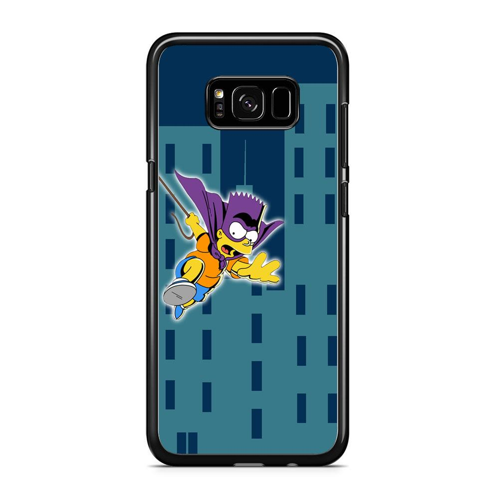 Simpson Fly From Building Samsung Galaxy S8 Case